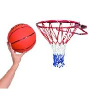 Stats Basketball Hoop and Ball Set