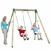 Woodland Wooden Double Swing