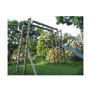 Active Outdoor Toys Monkey Bars and Slide