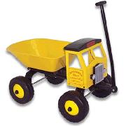 Classic Toddler Toys Pull Dump Truck