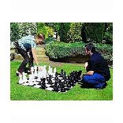 Garden Games Big Chess Set and Mat