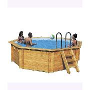 Plum Products Octagonal Wooden Pool