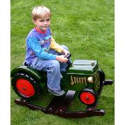Wooden Rockers Rocking Tractor