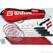 Wilson Tour Pro Badminton Kit (4 Pieces)