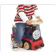 Wooden Thomas the Tank Engine Ride-On