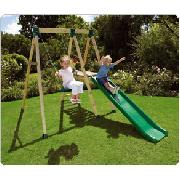 Woodland Swing Slide Combination