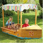 Sail Boat Sand Pit