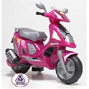 Injusa Pink Scooter Duo 6 Volt