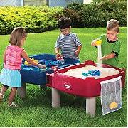 Little Tikes Deluxe Easy Store Sand and Water Table