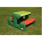 Little Tikes Junior Picnic Table - Evergreen