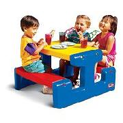 Little Tikes Junior Picnic Table - Primary