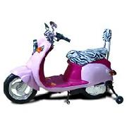 Pink Zoomer Scooter