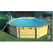 Plum Large Octagonal Wooden Pool