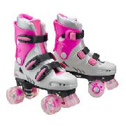 Stateside L.A. Lights Quad Roller Skates, Pink