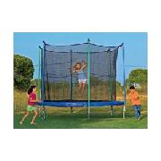10ft Trampoline with Enclosure and Flash Zone