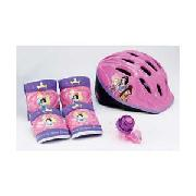 Disney Princess Helmet with Pads and Bell
