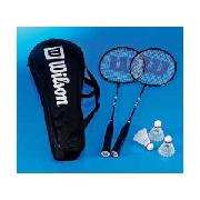 Wilson 2 Person Badminton Kit WRT874900