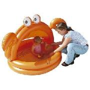 Inflatable Crab Sun Shade Pool